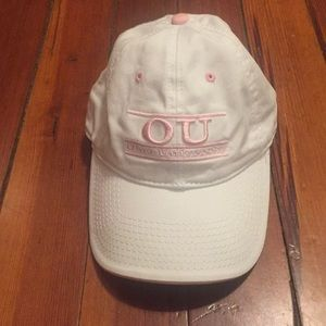 Accessories - Ohio University OU Pink / White Baseball Hat